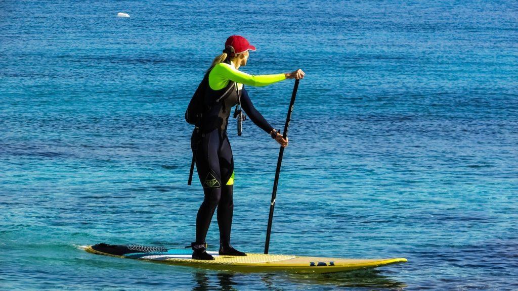 Qué usar para practicar Paddle surf SUP
