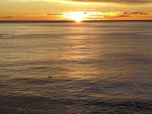 Playa Nova Icaria para practicar paddle surf
